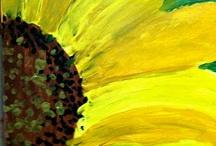 Elem Art - Flowers / by Courtney Jones