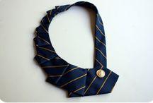 Kravatti-ideoita / Mitä vanhoista kravateista voisi tehdä?