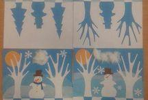 disegni invernali