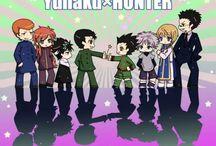 YYH ✘ HxH Crossover / ◆ Yu Yu Hakusho x Hunter x Hunter ◆