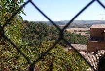 Catalunya: Biosca (Segarra). Catalonia. Lleida / Pueblo del norte de la Segarra, sobre el río Llobregós. Biosca está documentada desde el siglo XI..