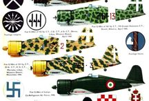 WW II Italian aircraft