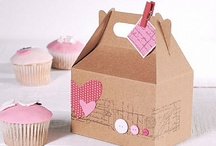 CUPCAKE BOXES,PRINTABLES,WRAPPERS