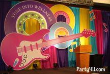 music backdrop