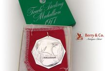 Im Dreaming Of A Silver Christmas! / Deck the halls with these wonderful sterling silver Christmas ornaments!