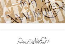 Marina Marjina Calligraphy
