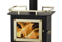 Stay warm and dry / Compact mini wood stove designed for boats, cabins, and Rv's