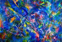 Nestor Toro abstract artist / www.nestortoro.com