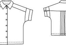 PPC - Chemisiers / Divers patrons de chemise et chemisiers