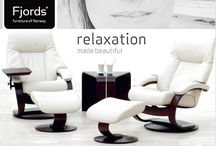 Relaxation Made Beautiful. Fjords Leather Chairs, Sofas & Recliners. Good's Home Furnishings / https://www.goodshomefurnishings.com/ fjords-furniture/Inspiring designs since 1941. Good's Home Furnishing in the Hickory Furniture Mart has an incredible selection of Fjord Recliners in many styles and leather colors. Choose a leather color which suites your personality and room. Also, makes a great addition to any home office or work space. These finely crafted leather chairs feature Norwegian design and modern technology.