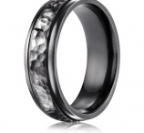Benchmark Alternative Metal Wedding Rings / Vibrant black Titanium, stately cobaltchrome, and elegant ceramic are only a few of the nontraditional wedding band designs you'll find from King of Jewelry.