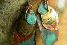 Copper Jewelry ideas / by Allison Ross