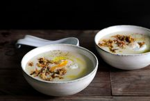 Soup / Creative and interesting soup dishes.