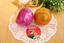 Sê Tu Uma Benção / Sabonete artesanal esfera de natal