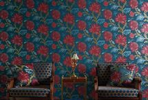 Flowers & Florals in Interiors / Modern or traditional, bright or subtle, florals and flowers are everywhere in interior wallpapers and fabrics.