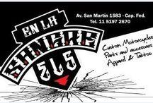 EN LA SANGRE / Custom motorcycles parts and accesories---Tattoo & Apparel
