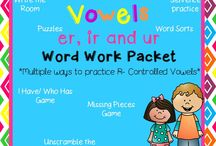 Literacy Stations/Daily 5 ideas