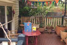 Rooftop terrace / Indoor outdoor space