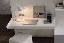 desks in living-room