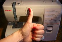 Learning to Sew / by Annie Griffin