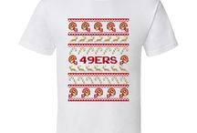 8 Bit Ugly Christmas Football Sweaters