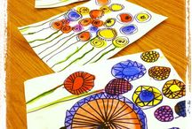 spring art projects for kids flowers