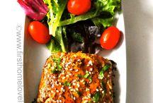 salmon teriyaki dg sayuran