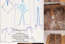 Cleo's Cloak 'n' Dazzle creations / Cleo's Cloak 'n' Dazzle Clothing Design & Redesigns ~Gypsy*Bohemian*Steampunk~ Inspired Life~Styles *Custom work & DIY ideas to share* www.cleoscloakndazzle.blogspot.com