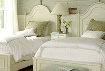 bedrooms / by Gayle Bourland