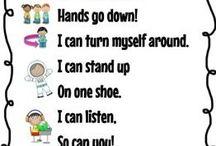Nursery rhymes and school songs