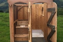 outhouse shower house