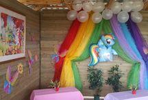 My Little Pony Party Theme / Children's party theme - My Little Pony
