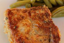 parmeasn crusted pork chops