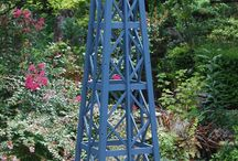 Obelisk and Trellis / Vertical garden structures to take your garden upward / by Nick McCullough, APLD