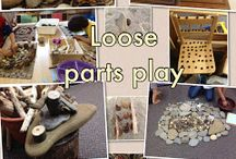 Nature Loose parts play