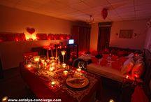 Romantic Dinner / Professional organization of  Romantic Dinner in Antalya
