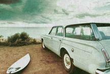Vintage Cars / by Della Ray Rimel