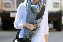 Scarfs / A scarf changes everything