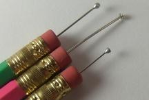 DIY / Dotter fatto con le matite