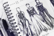 Theme Idea - Fashion Drawings