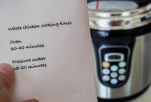 Pressure Cooker Recipes / Pressure Cooker