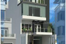Thiết kế nhà phố đẹp / Mẫu Thiết Kế Nhà Phố Đẹp | Hiện Đại Tân Cổ Điển - NGÔI NHÀ XINH