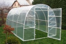 greenhouse with paralon