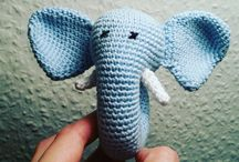 My crochet / Mine hæklerier / Crochet / hækling