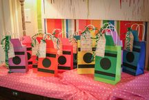 Paint/Art themed party