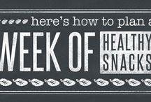 Week of Healthy Snacks