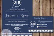 Mr. & Mrs. Cole: Invites / by Stephanie H