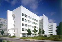 RM 1989 Siemens Office & Research Facilities, Munich, Germany 1985 - 1989 / RICHARD MEIER