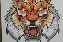 tigre vinilo