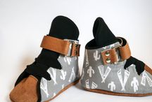 Soft Sole Finnbear Valcro Sneakers / Handcrafted baby Sneakers created in a bright, bold fabrics. Soft and flexible, this cute little pair are perfect for little growing feet while looking super cute at the same time!